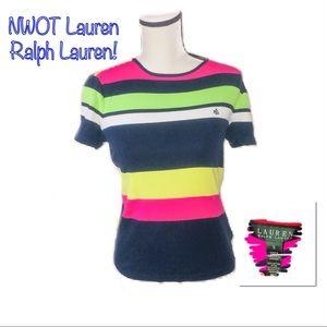 ‼️🔥NWOT LAUREN RALPH LAUREN Striped Top!🔥‼️